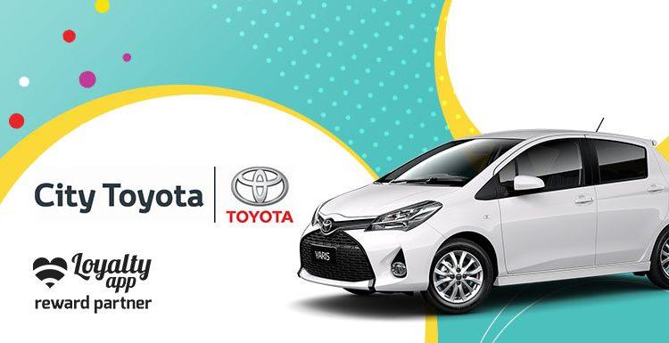 City Toyota Drives Into Loyalty App