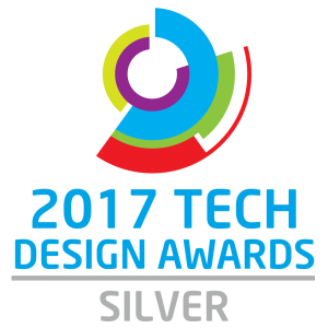 2017 Tech Design Awards Silver Winner