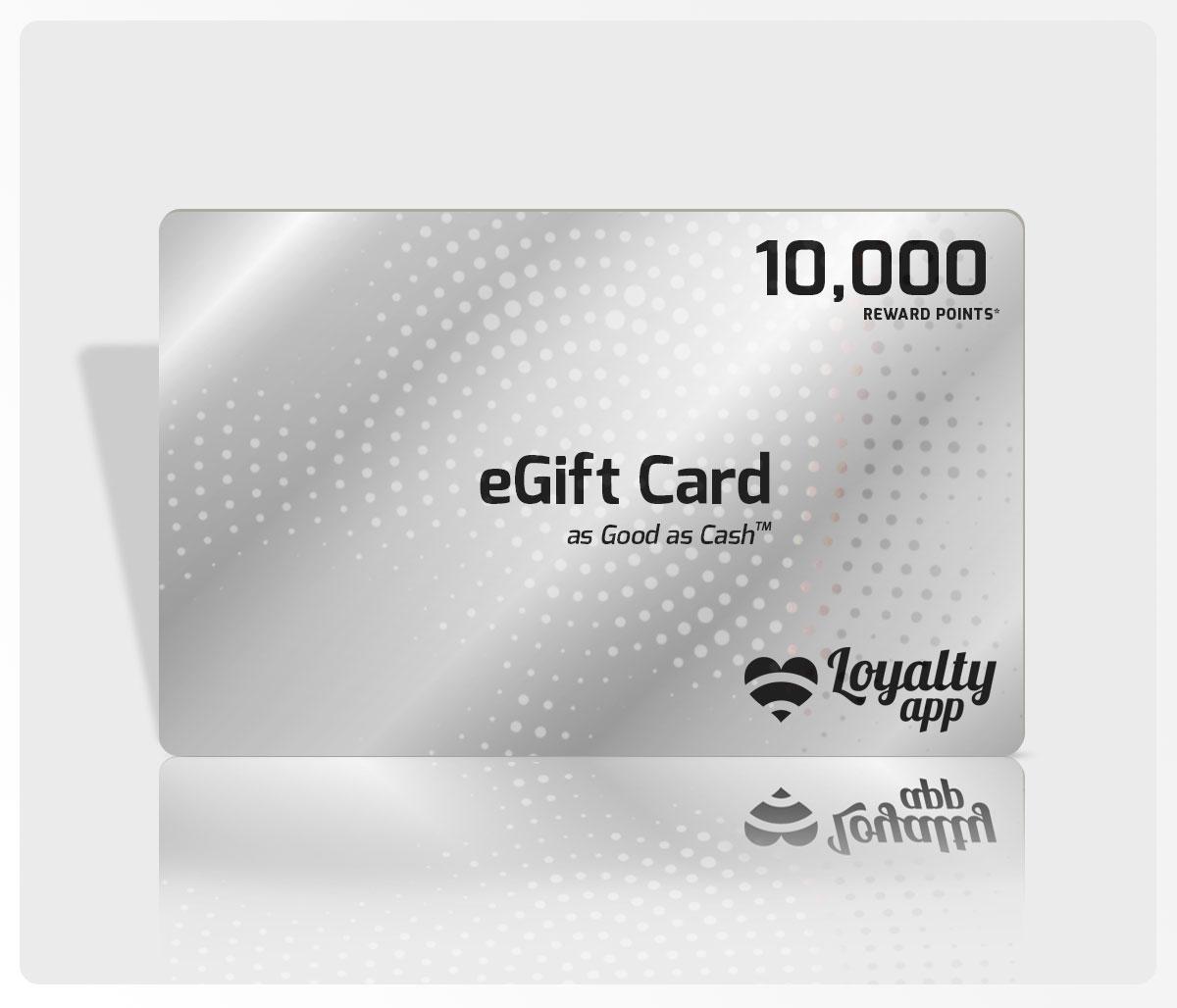 10000 reward points eGift Card