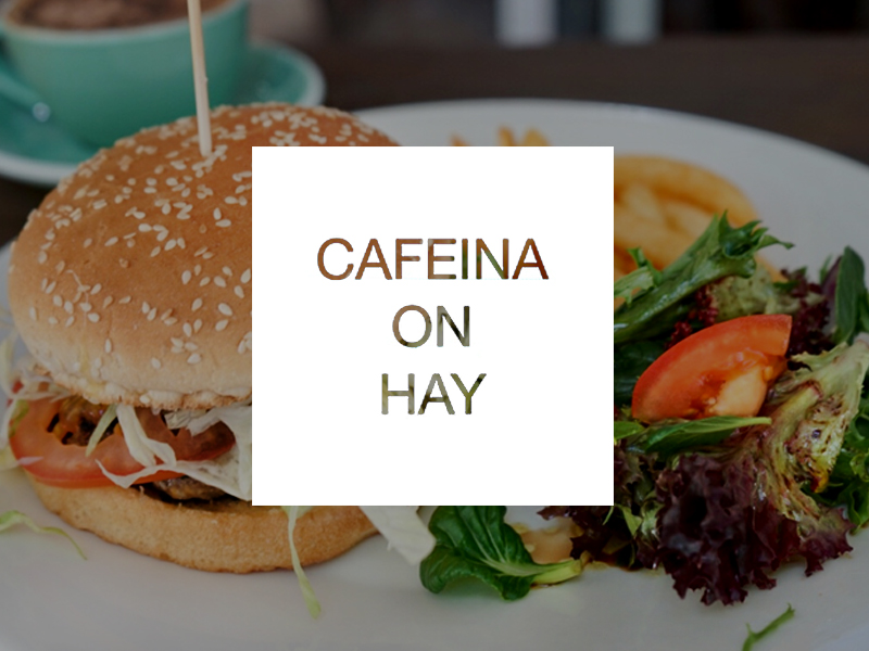 Cafeina on Hay Perth