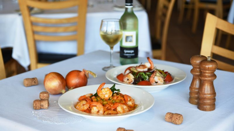 prawn - Antico Cafe