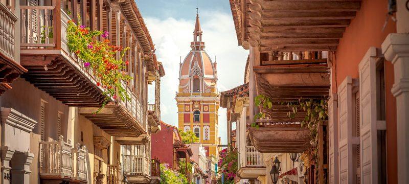 Colombia Cartagena de Indias the walled city